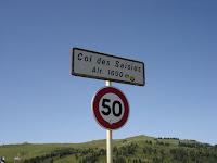Col des Saisies Frankrijk beklimming