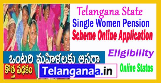 Single Women Pension Scheme in Telangana Online Apply / Eligibility / Status