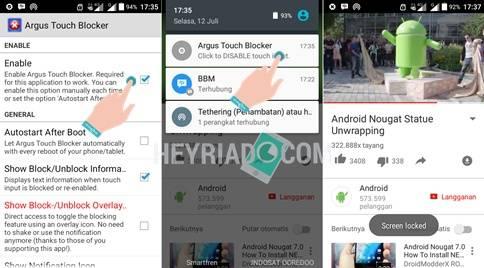 Layar Android Tidak Bisa Disentuh