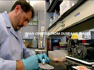 MAN CREATED FROM DUST AND WATER