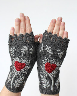 mitaines-coeur-tricot