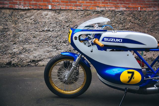 Suzuki T500 By Weberwerks Hell Kustom