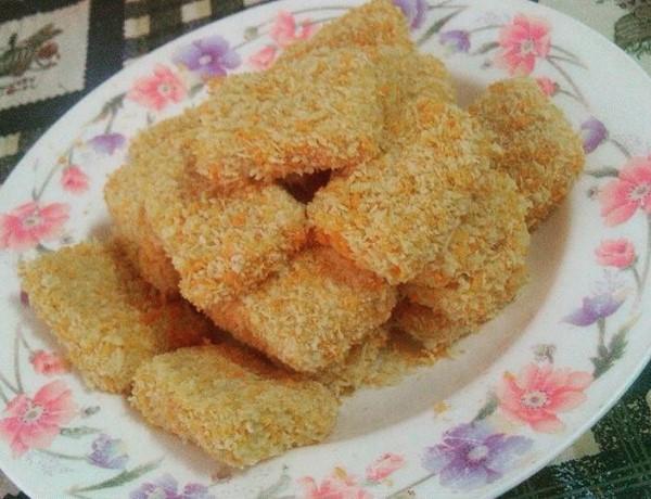 Cara Membuat Nugget Daging Sapi Sendiri, Cara Membuat Nugget Daging Sapi Praktis, Resep Nugget Daging Sapi Dapur Umami