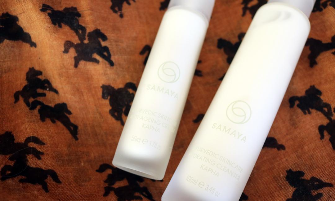 SAMAYA Kapha Hydrating Cleanser & Anti-Ageing Cream review