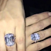 Kim K gets a new huge diamond engagement ring from Kanye