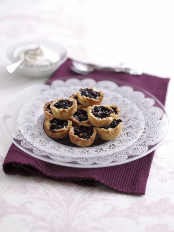 Mini Blueberry Tarts: Great For Afternoon Tea