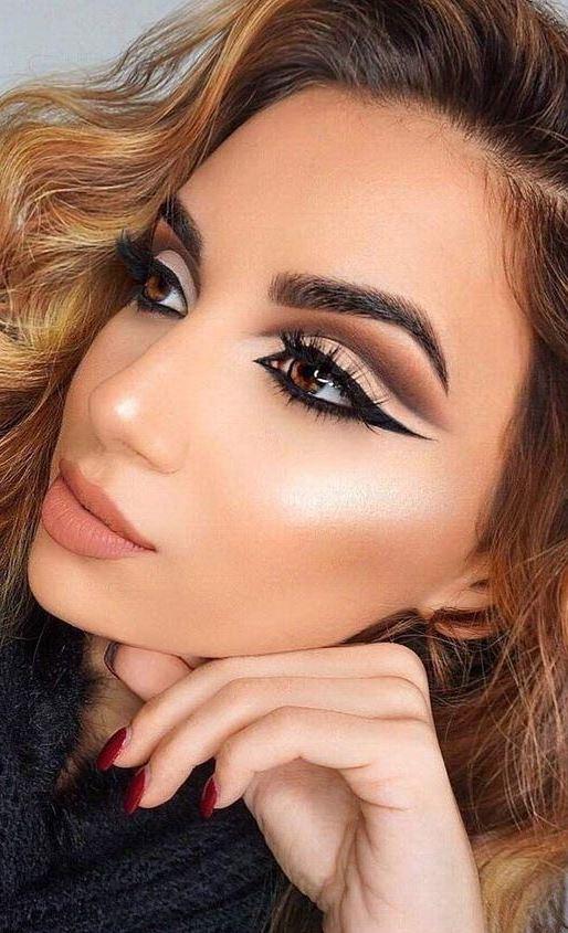 Pretty Cut Crease Makeup Ideas