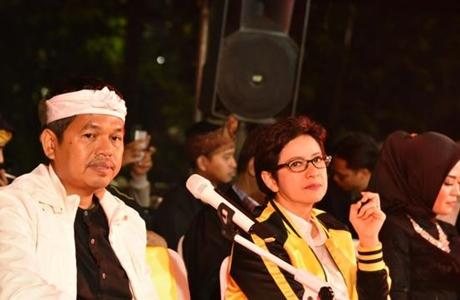 Dedi tak Bantah Isu Diusung Koalisi Golkar-PDIP