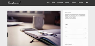 TheHunter Responsive Blogger Template