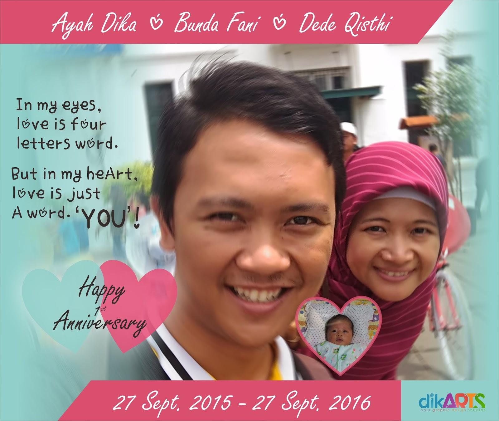 Coachdika happy first anniversary sayang