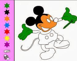Mickey Mouse Boyama Resimleri 3