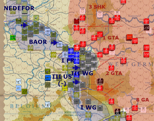 The Next War, Operation Attila - D+16, WP Land Phase