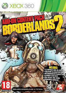 Borderlands 2 Addon Pack (X-BOX360) 2013