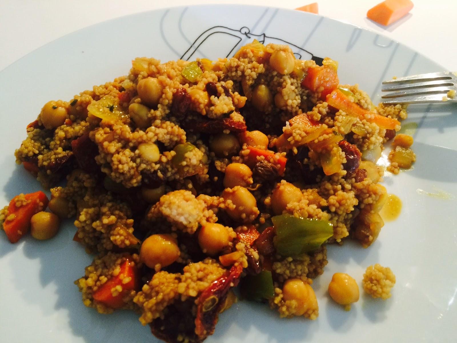 Como Cocinar El Cous Cous   Mis Recetas Anticancer Cous Cous De Cebada Con Verduritas Y Tomate