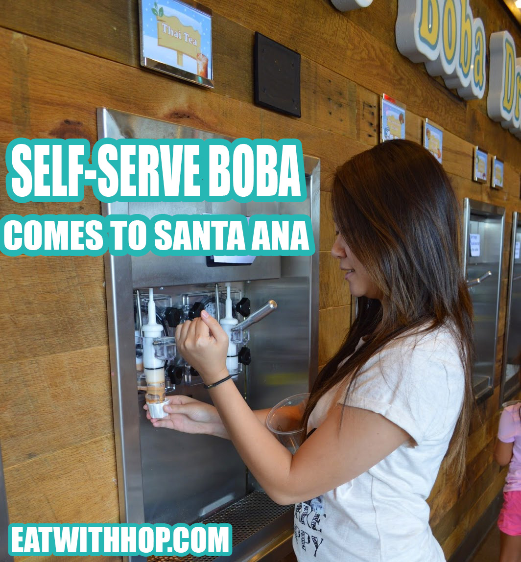 SELF-SERVE BOBA COMES TO SANTA ANA BY CLASS 302