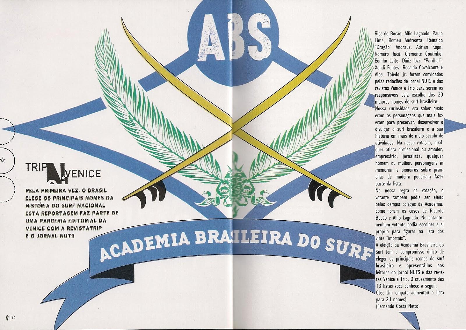 """Nesta edição de número 80, lançada em 2003, além da matéria """"SURF LTDA"""",  ainda saiu publicada mais uma brilhante ideia editorial de Dandão, quem  sabe um dia ... 00fcfbc76a"""