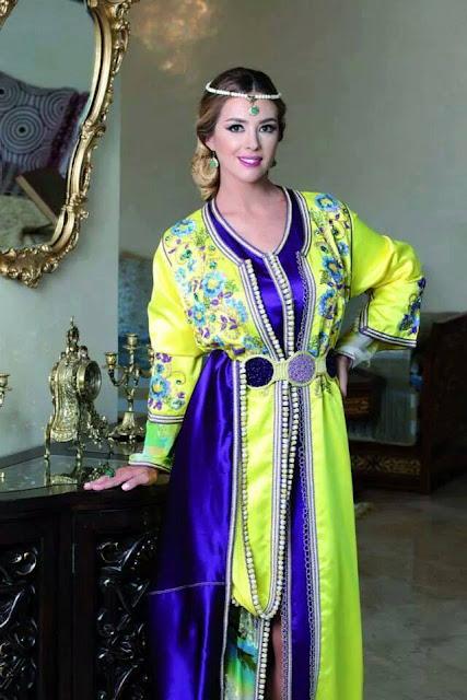 Caftan marocain moderne – style moderne 2018