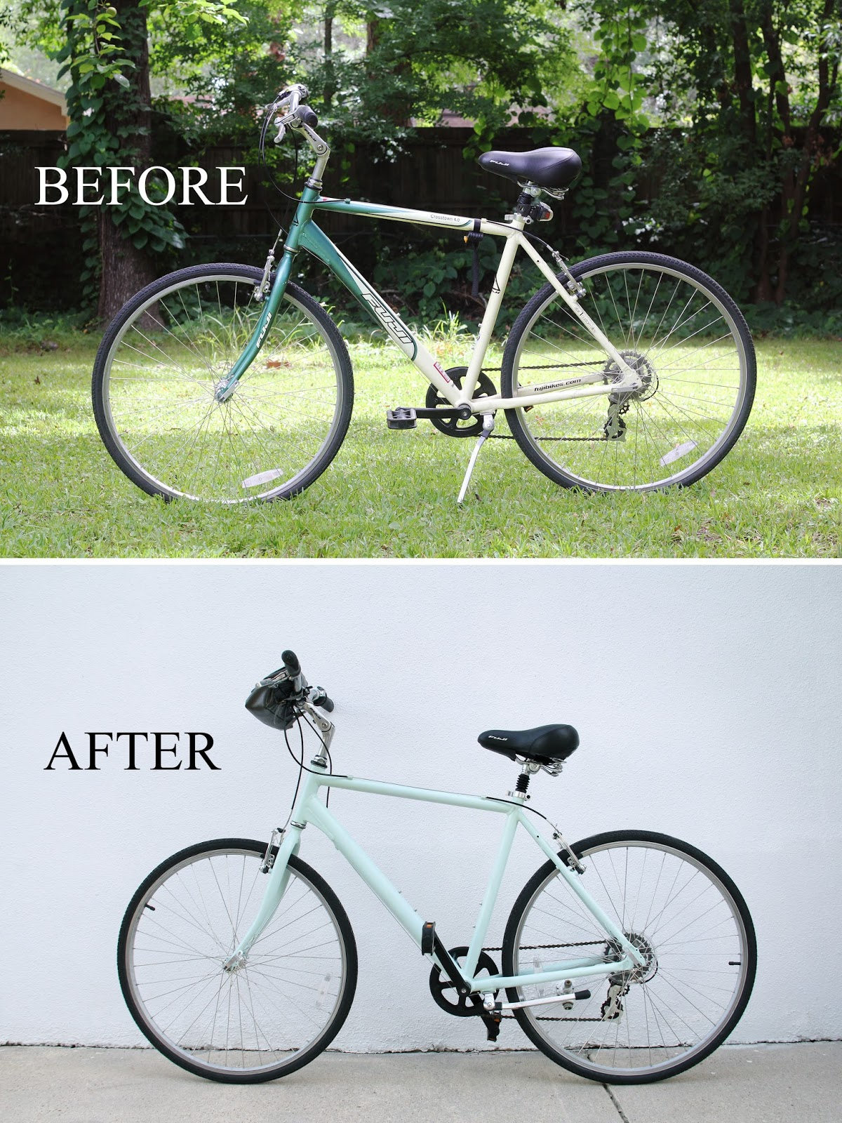 we can make anything paint a bike tutorial. Black Bedroom Furniture Sets. Home Design Ideas