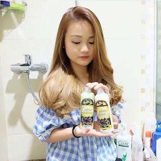 Shampoo dan Conditioner Caviar Menjaga Tidak Rontok Akibat Pewarnaan