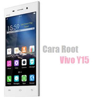 Cara Root Vivo Y15