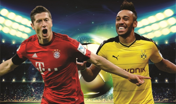 Bayern Munich are short favourites to win the Bundesliga at 1/8. Dortmund follow at 7/1.