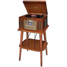 Crosby CD recorder turntable