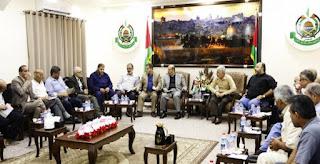 (فتح) تشارك في اجتماع حماس بالفصائل الفلسطينية في غزة التفاصيل من هناا