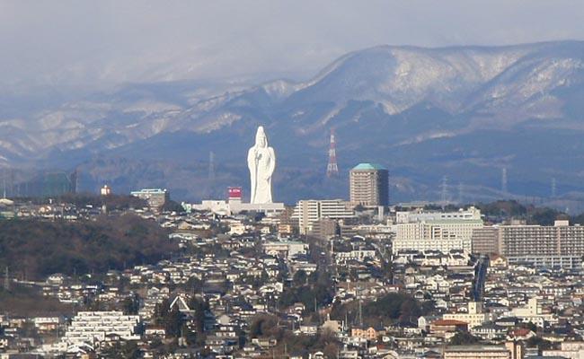 Sendai Daikannon Statue
