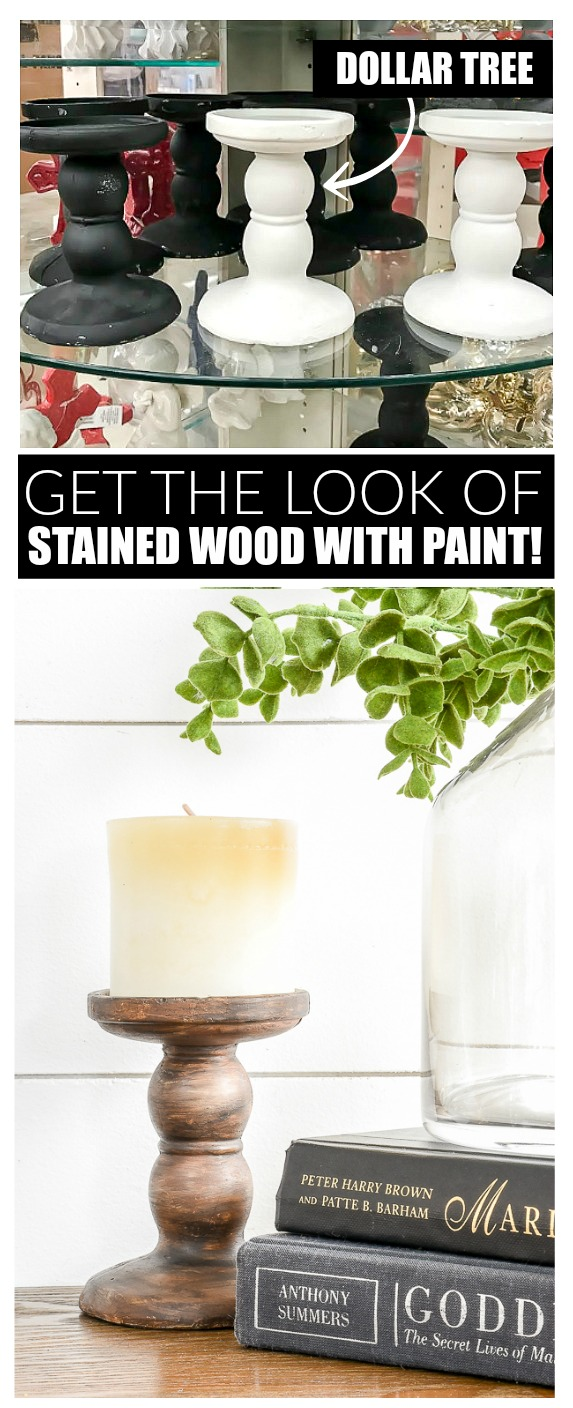 How to easily get the look of stain with paint