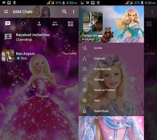 Bbm Barbie Terbaru v3.2.5.12 Apk