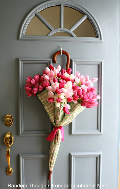 Spring Front Door Decor Without Wreaths
