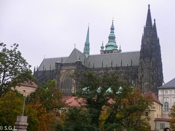 La catedral de San Vito. Castillo de Praga