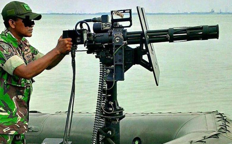 M-134D-Minigun TNI
