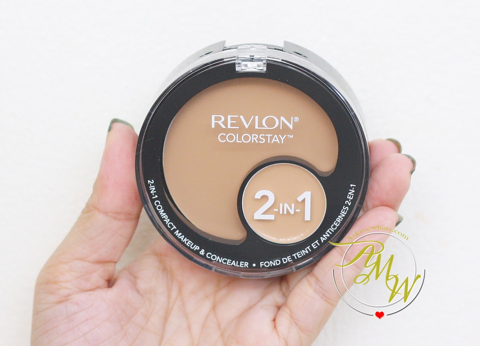 Askmewhats Top Beauty Blogger Philippines Skincare Makeup Review Revlon Photoready Airbrush Effect Nude Revlons Colorstay 2 In 1 Compact Is An Expertly Matched Concealer That Lasts All Day