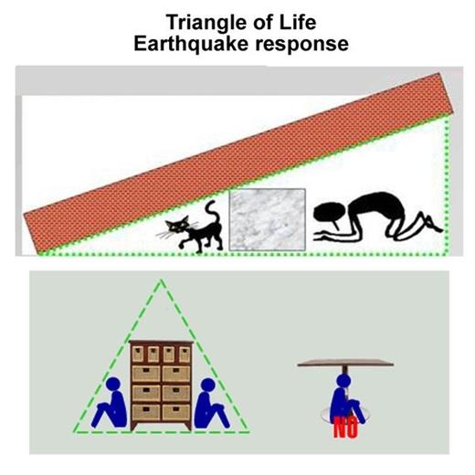 tam giác sự sống cứu mạng