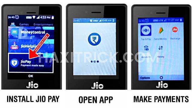 Jio Pay UPI App for JioPhone
