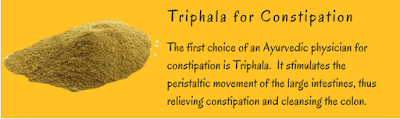 Triphala for Constipation