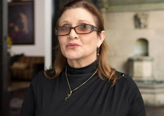 Carrie Fisher, victime d'une crise cardiaque
