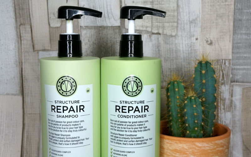 beauty, shampoo, conditioner, maria nila, review, hair,