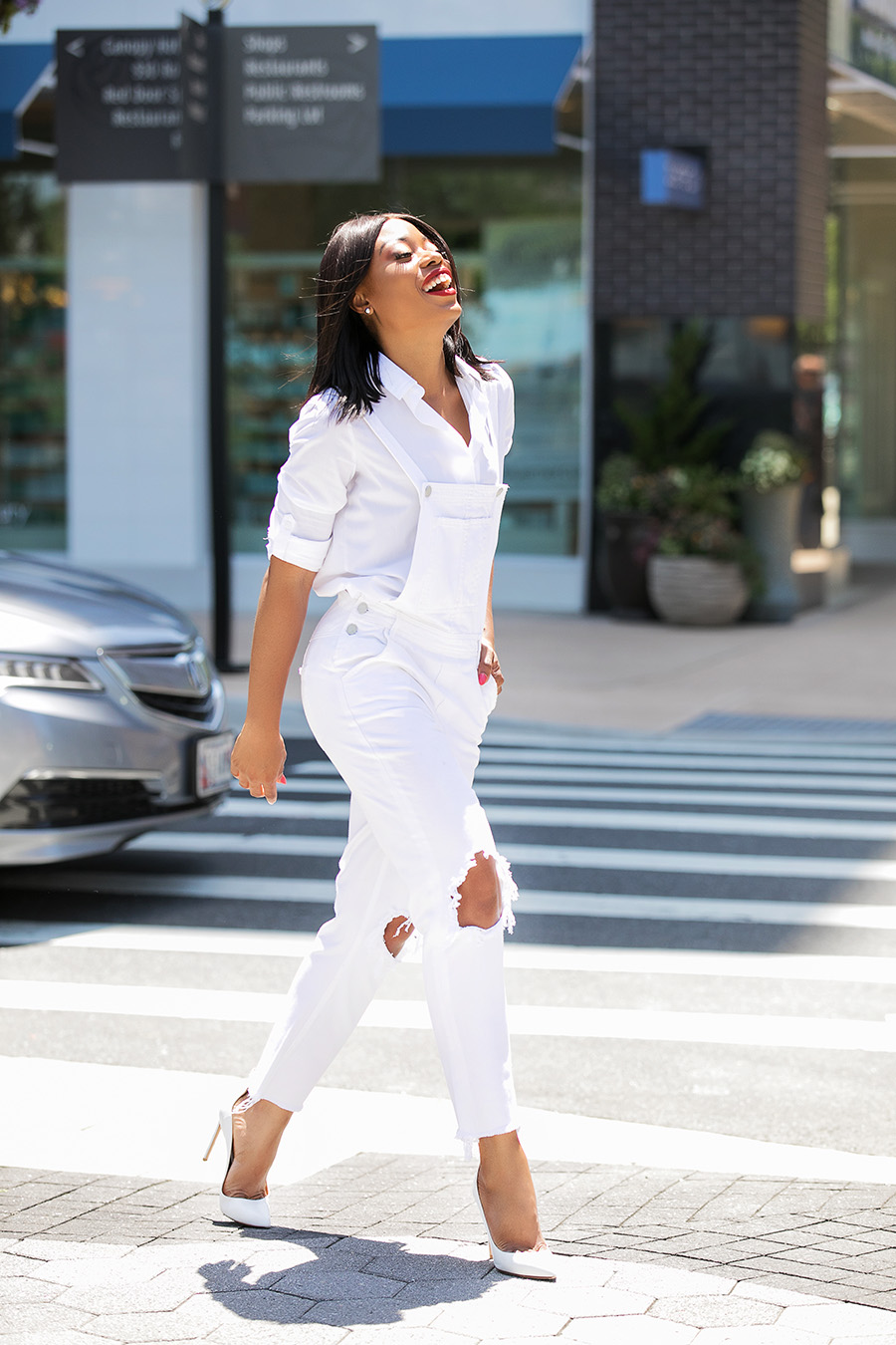 how to style overall for summer, tjmaxx, www.jadore-fashion.com