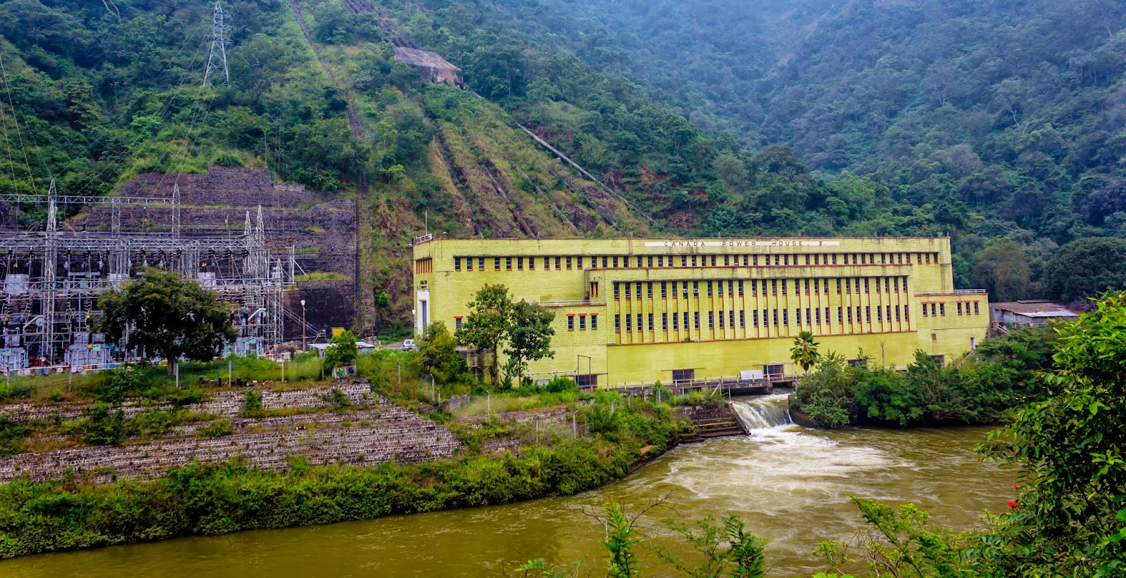 Canada hydro power plant