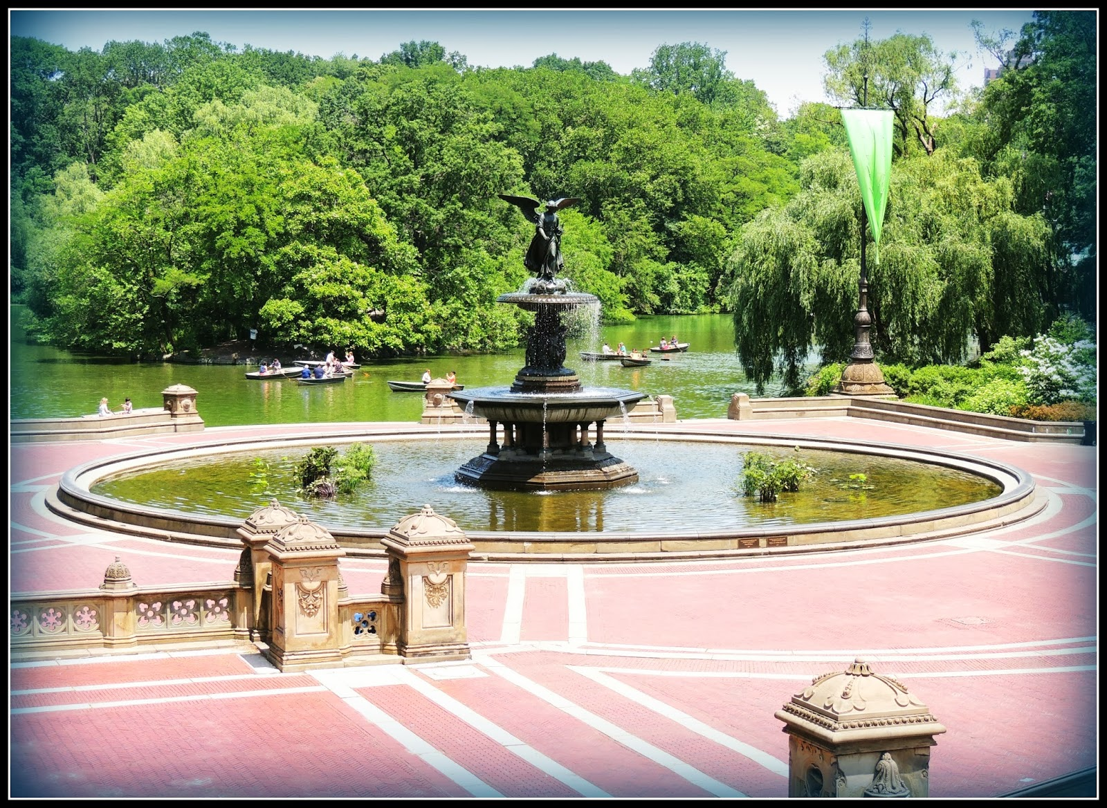 NY en 3 Días: Fuente Bethesda en Central Park