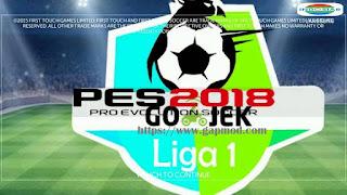 FTS Mod PES League 1 Gojek Apk + Data Obb