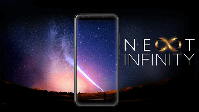 Cloudfone finally unveild its first affordable Next Infinity series of smartphone with 18:9 screen display!