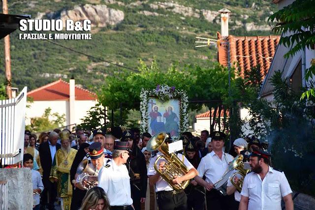 Γιόρτασαν στη Νεμέα την εορτή του Αγίου Πνεύματος