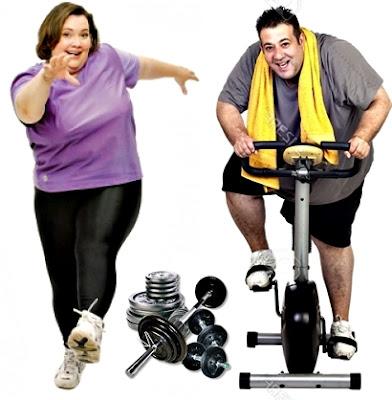 HIT personas con obesidad pesas