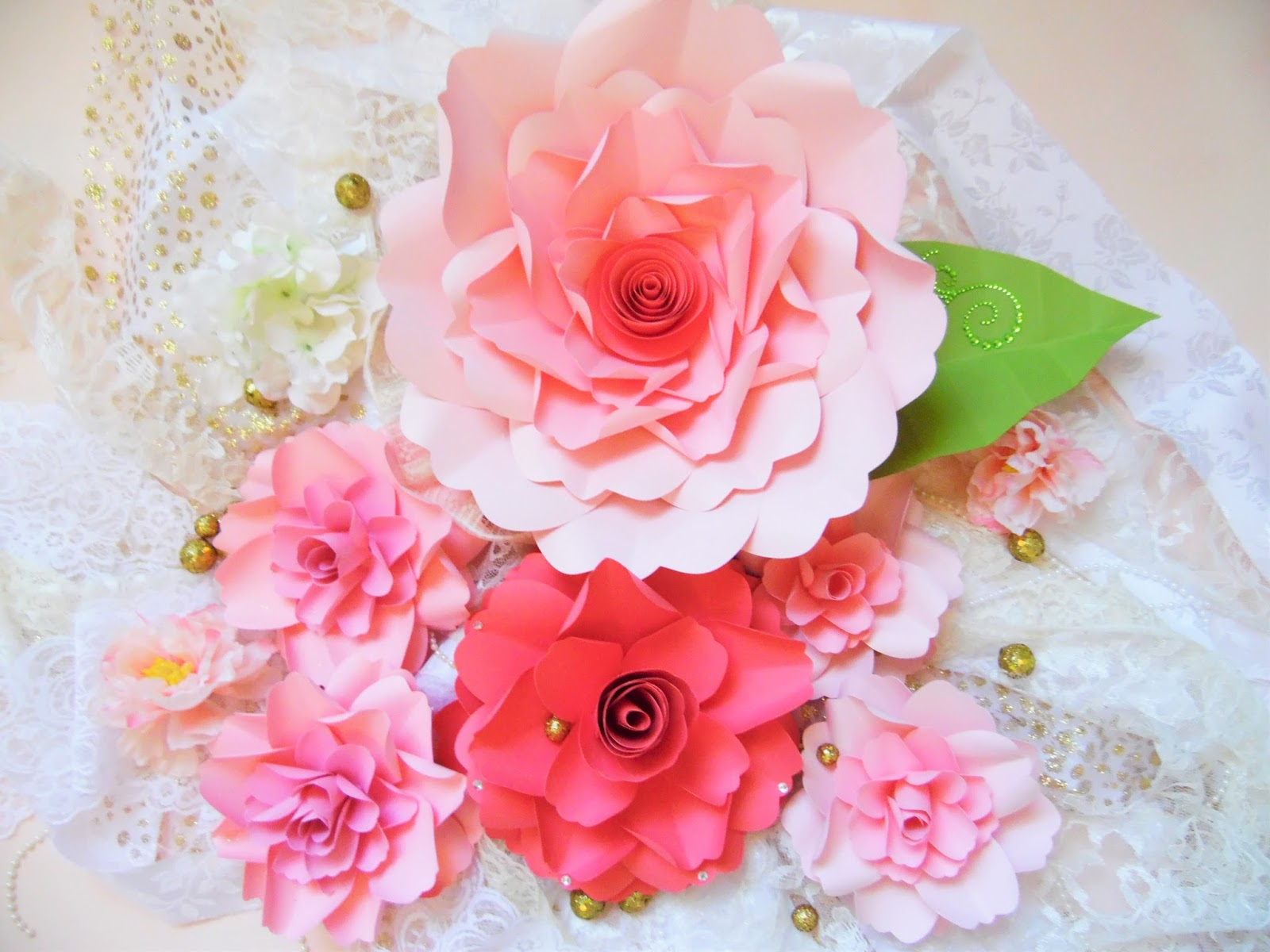 Diy Paper Flower Wall Selol Ink