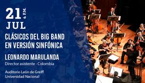 Clasicos del Big Band en versión sinfónica
