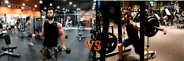 Bodytech vs Spinning Center Gym