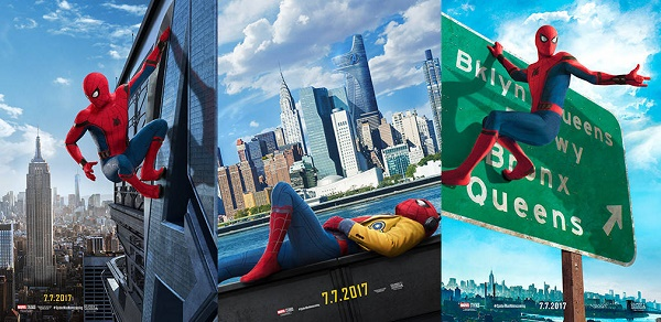 film bulan juli 2017 spider-man homecoming